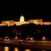 A Budavári Palota és a Sikló a Lánchídról