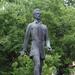 Pécs - Petőfi Sándor szobra a 48-as téren