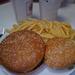 Whopper menü és csirkés szendvics