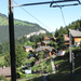 Svájc, Jungfrau Region, a Lauterbrunnen-Kleine Scheidegg szakasz