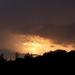 égi fények, barna naplemente